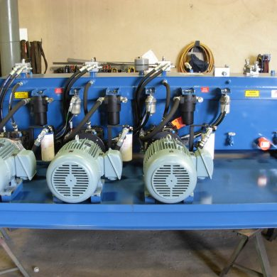 Hydraulic Drive Planer Power Units